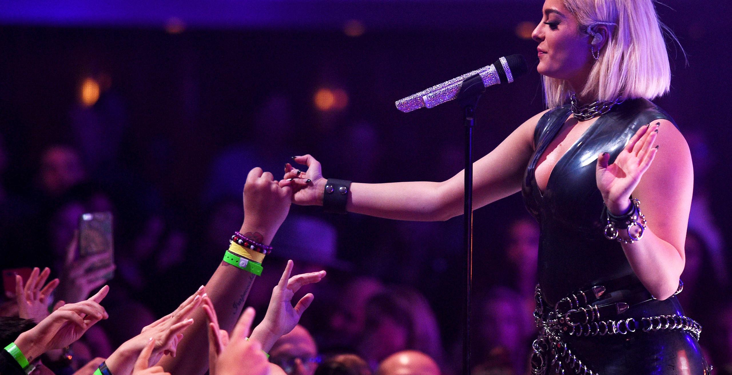 Bebe Rexha JBL Fest Jewel Nightclub Las Vegas