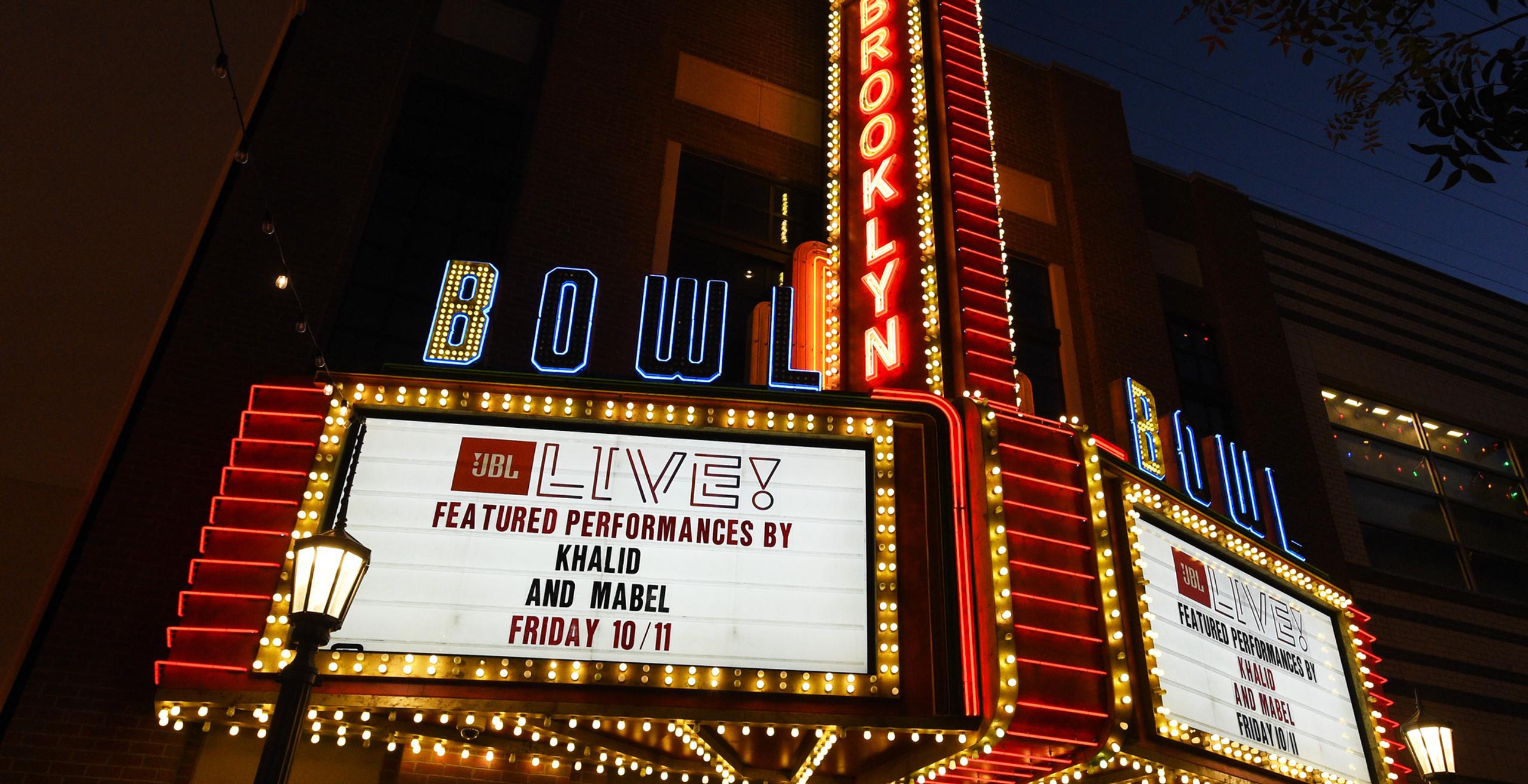 Khalid Mabel JBL Fest Brooklyn Bowl Las Vegas