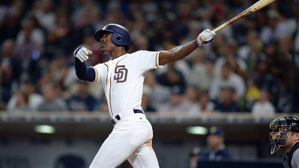 Melvin Upton Jr. B.J. BJ San Diego Padres 2016