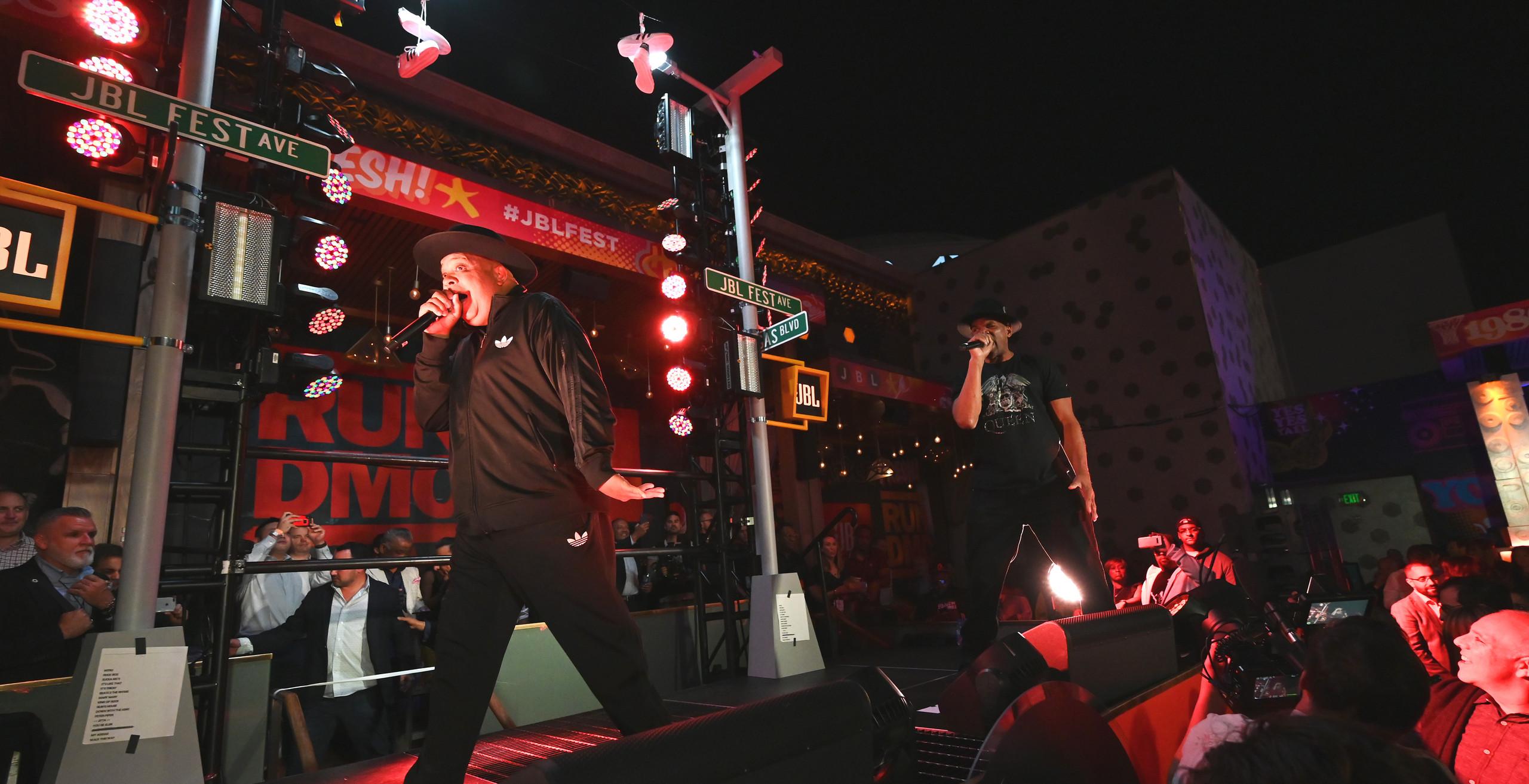 Run DMC JBL Fest Omnia Las Vegas