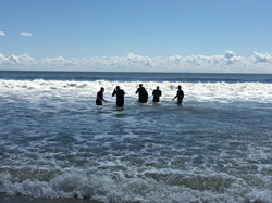 Annual Ocean Baptism