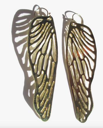 Brass Dragon Fly Wings