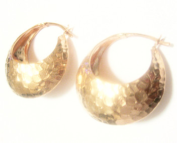 Rose Gold Custom Earrings Debi Mazar