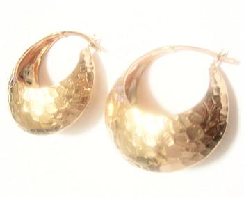 Rose Gold Custom Earrings Debi Mazar
