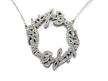 The Art of Elsyium Diamond Heaven Necklace