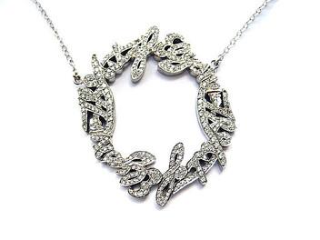 The Art of Elsyium Diamond Heaven Necklace