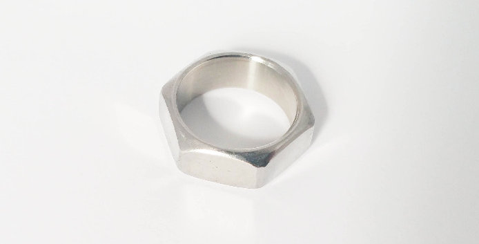 Silver Pipe Ring