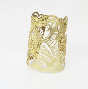 Lace Brass Cuff