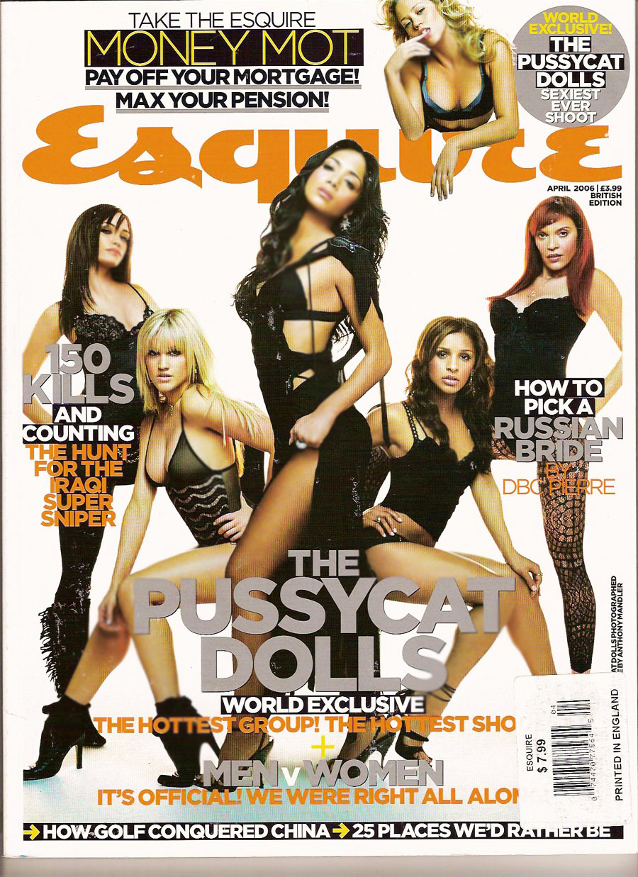 BRITISH ESQUIRE APRIL 2006