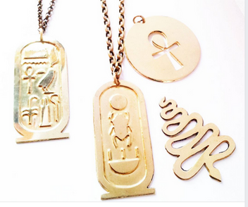 Gold Egyptian Charms