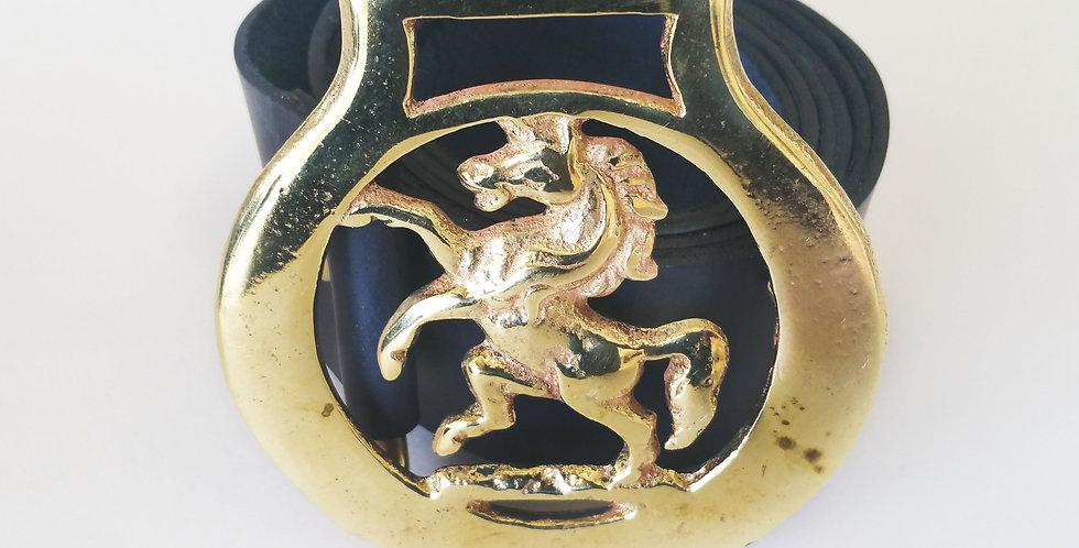 Rearing Horse Belt