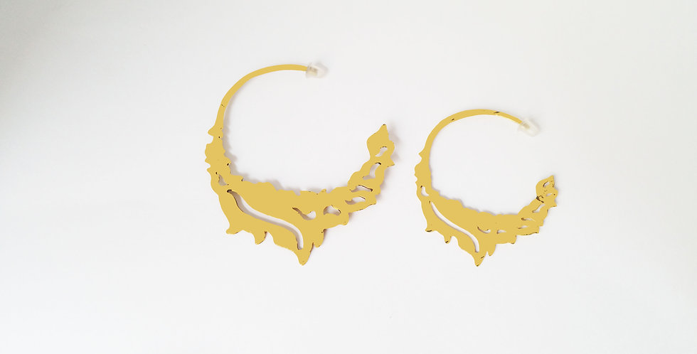 Large Fire Hoops