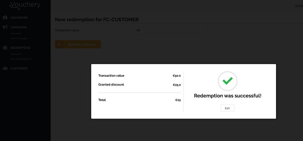 Affiliate partnerships- Manual redemption Vouchery coupon management software