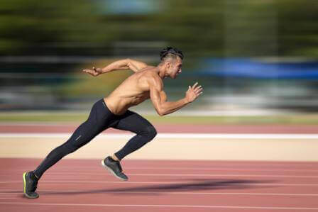 Dynamic Correspondence between weightlifting and block start sprinting performance.