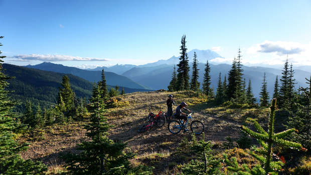 MT RANIER RIDE
