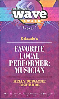 2017 Wave Award 1st Place Favorite Local Performer: Musician