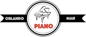 Orlando Piano Man Logo
