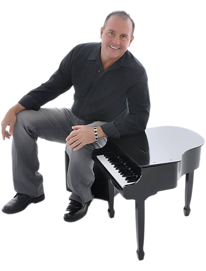 Kelly DeWayne Richards Headshot with Piano