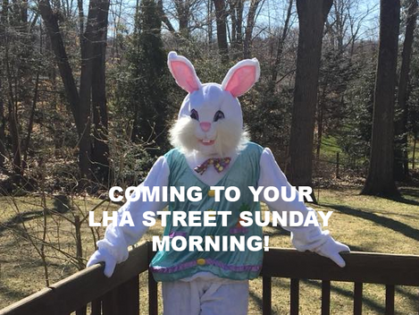 The Easter Bunny is Coming