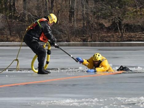 Ice Rescue Demo Sunday
