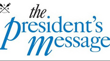 The President's Message