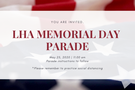 LHA Memorial Day Parade 2020
