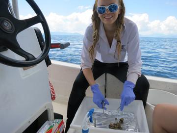 Bettina ist Frau Doktor der Meersbiologie!