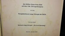 Das Perspektivforum gewinnt den Wolfgang Müller-Osten-Preis 2019 !!!