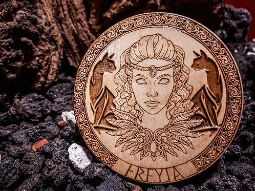 The Goddess Freyja