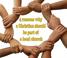 why be a part of a local church