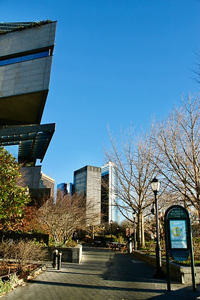 Museum of Jewish Heritage and View of Financial District
