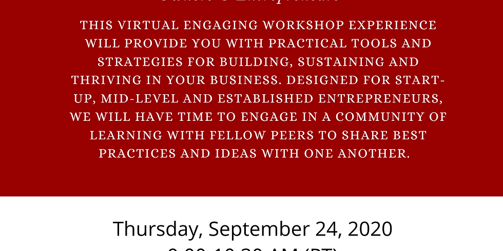 Virtual Workshop for Veteran Diverse Small Business Owners