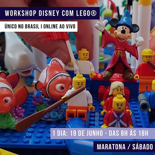 Workshop ONLINE e AO VIVO Maratona SÁBADO