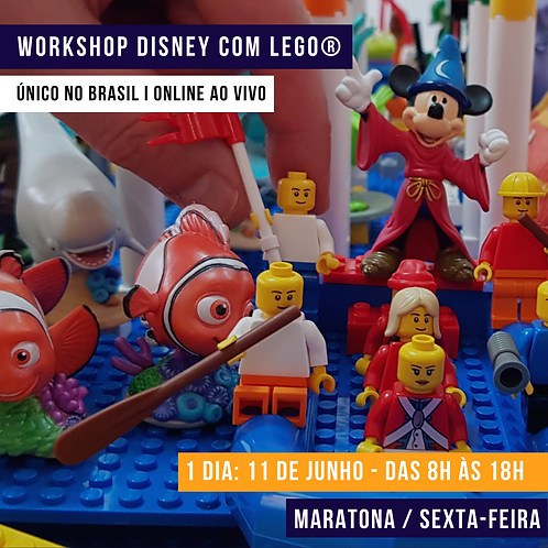 Workshop ONLINE e AO VIVO Maratona Semana
