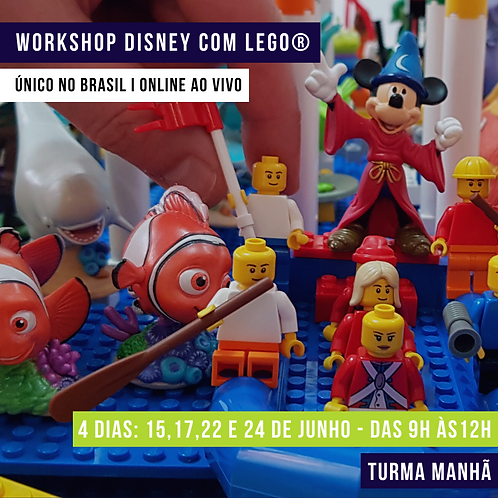 Workshop ONLINE e AO VIVO Manhã