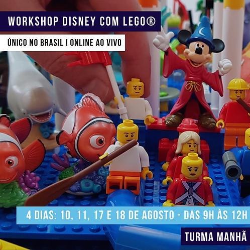 Workshop ONLINE e AO VIVO Manhã