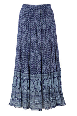 Gypsy Printed Frilled Skirts