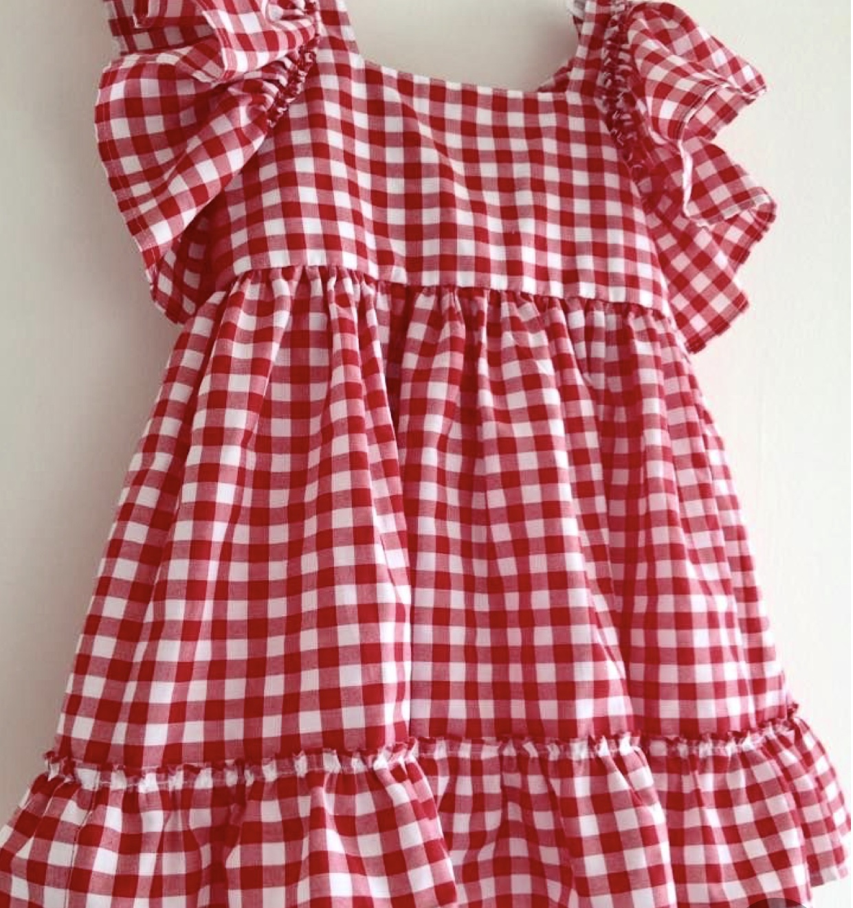 Kids Gingham Check Dress