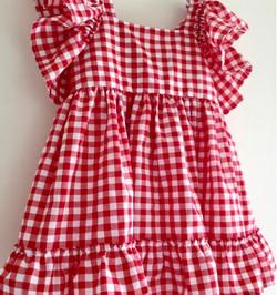 Kids Gingham Check Dress