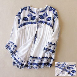 Bohemian Embroidered Dresses