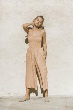 Linen Boho Jumpsuit
