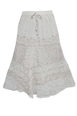 Gypsy Embroidered Skirts