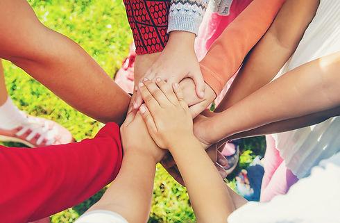 children-folded-their-hands-together-pla