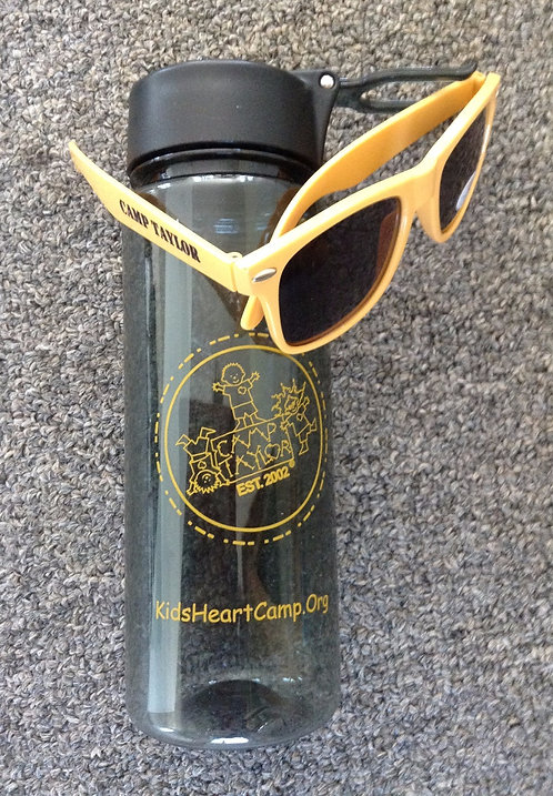 "CT ""Building On A Dream"" Sunglasses & Water Bottle"