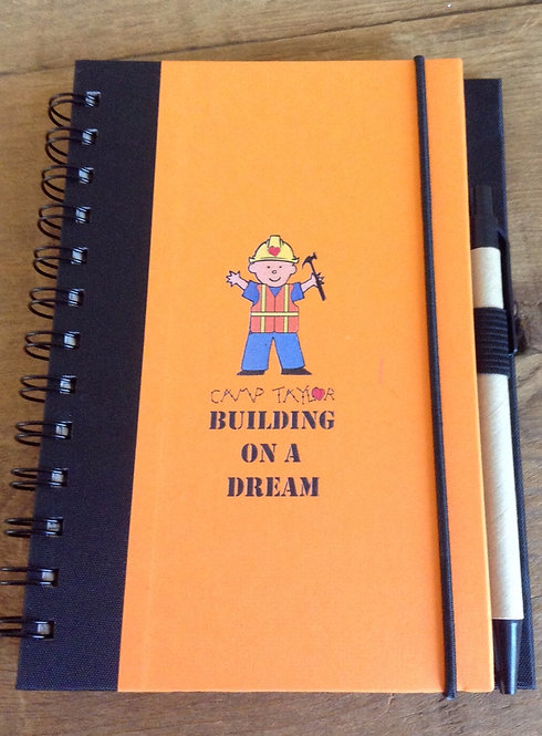 CT Building On A Dream Journal w/ Pen