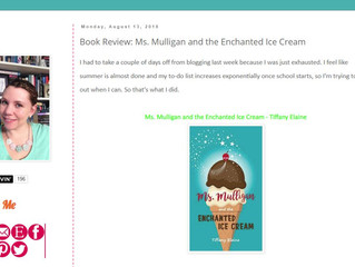 Ms. Mulligan's blog tour ramps up!