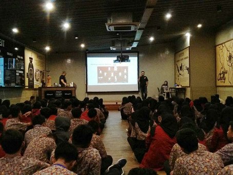 Seru Banget! Ratusan Siswa-Siswi SMK Cobain Bikin Kopi di Coffee Experience by Upnormal