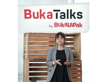 Co-Founder CRP Group Bocorkan Strategi Bisnis di BukaTalks by Bukalapak