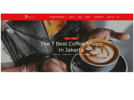 Harus Tahu! Upnormal Masuk Nominasi 7 Coffee Shops Terbaik di Jakarta