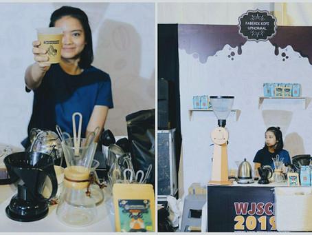Bersama Komunitas Kopi, Upnormal Hadir di West Java Specialty Coffee Festival